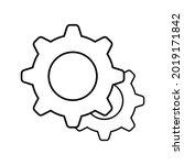 setting gear vector icon design ...   Shutterstock .eps vector #2019171842