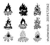 set of illustrations of... | Shutterstock .eps vector #2019172562