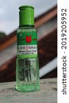 Small photo of Yogyakarta, Indonesia - August 4, 2021: Whitewood oil cap lang to relieve cold