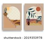 modern poster with minimalist... | Shutterstock .eps vector #2019353978