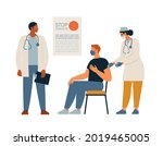 general vaccination against... | Shutterstock .eps vector #2019465005