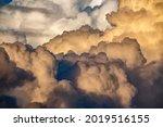 Billowing Cumulus Clouds...