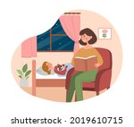 mother and child concept. woman ... | Shutterstock .eps vector #2019610715