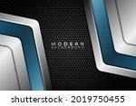 abstract modern technology... | Shutterstock .eps vector #2019750455