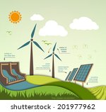 evolution of the concept of... | Shutterstock .eps vector #201977962