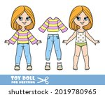 cartoon girl with bob hairstyle ... | Shutterstock .eps vector #2019780965