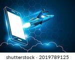 business concept illustration... | Shutterstock .eps vector #2019789125