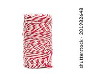 Red And White Baker's Twine...