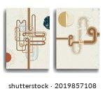 modern poster with minimalist... | Shutterstock .eps vector #2019857108
