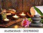 spa treatment | Shutterstock . vector #201986062