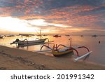traditional balinese ships... | Shutterstock . vector #201991342