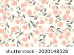 seamless floral pattern based...   Shutterstock .eps vector #2020148528