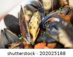 seafoods | Shutterstock . vector #202025188