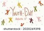 youth international day people... | Shutterstock .eps vector #2020269398