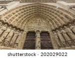 paris in fine day    Shutterstock . vector #202029022
