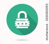 password icon. simple... | Shutterstock .eps vector #2020302092