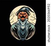jack halloween illustration...   Shutterstock .eps vector #2020366952