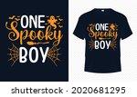 one spooky boy   boy halloween...   Shutterstock .eps vector #2020681295