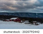 Snowy Perry County Farm At...