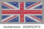 mosaic navigation united... | Shutterstock .eps vector #2020922972