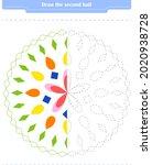 educational game for children....   Shutterstock .eps vector #2020938728