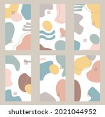 organic shapes abstract... | Shutterstock .eps vector #2021044952