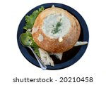 clam chowder | Shutterstock . vector #20210458