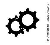 setting gear vector icon design ...   Shutterstock .eps vector #2021096348