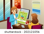a vector illustration of... | Shutterstock .eps vector #202121056