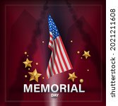 memorial day. remember and...   Shutterstock . vector #2021211608