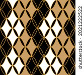 seamless pattern decorated with ... | Shutterstock .eps vector #2021222522