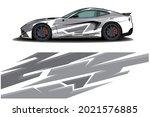 sport car decal wrap design... | Shutterstock .eps vector #2021576885