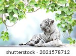 horizontal banner with exotical ...   Shutterstock . vector #2021578712