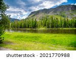 Yellowstone River With...