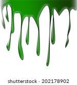 paint drips | Shutterstock . vector #202178902