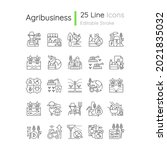 agriculture related linear...   Shutterstock .eps vector #2021835032