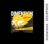 dimension writing design ... | Shutterstock .eps vector #2021893055