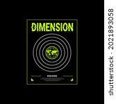 dimension writing design ... | Shutterstock .eps vector #2021893058