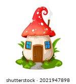 fairy mushroom house  gnome...
