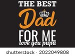 dad t shirt daddy papa father... | Shutterstock .eps vector #2022049808