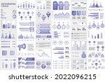bundle infographic elements... | Shutterstock .eps vector #2022096215