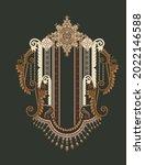 Vintage Elements In Baroque...