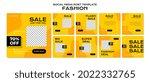fashion social media post... | Shutterstock .eps vector #2022332765