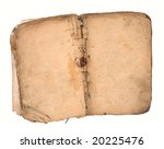 old book open on both blank... | Shutterstock . vector #20225476