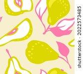 hand drawn vector pattern of...   Shutterstock .eps vector #2022573485