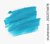 brush paint stroke acrylic... | Shutterstock .eps vector #2022576878