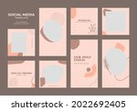 social media template blog...   Shutterstock .eps vector #2022692405