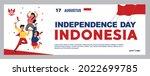spirit of indonesian...   Shutterstock .eps vector #2022699785