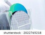 Silicon Wafers In Storage Box...