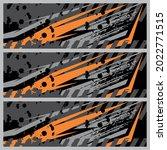 race car wrap decal designs... | Shutterstock .eps vector #2022771515